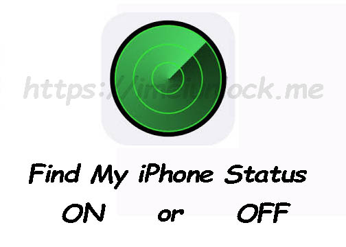 Find My iPhone ON/OFF Check