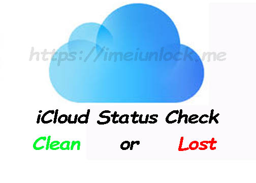 iCloud imei Check lost stolen