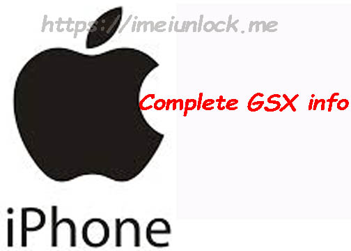 iPhone IMEI Check GSX