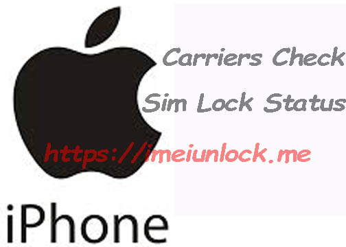 iPhone imei Check mini info