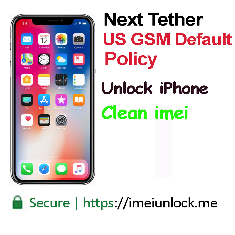 US Gsm Country default Policy Unlock iPhone all Models