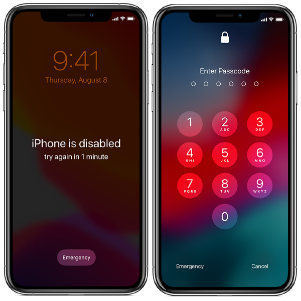 iCloud Unlock from Passcode/Disabled iPhone X